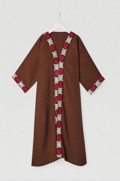 Beauty Lace Abaya (12 Pieces Set)