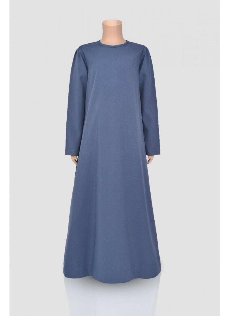 Plain Straight Abaya (12 Pieces Set)