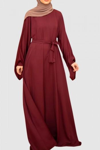 Umbrella Cut Plain Abaya