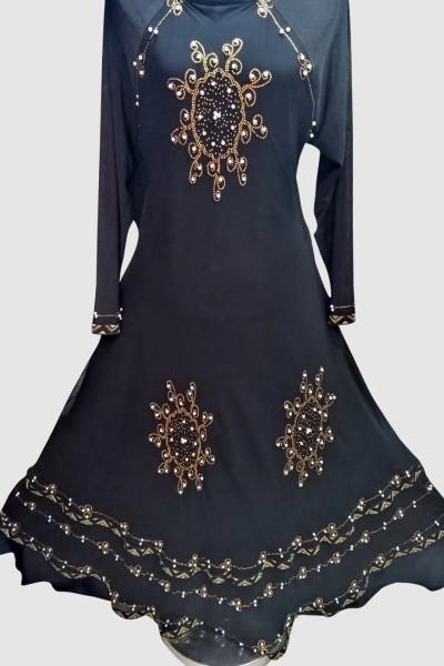 (6 Pcs Set) Fancy Abaya
