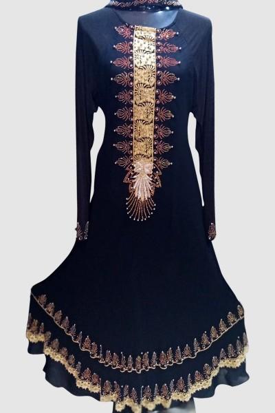 (6 Pcs Set) Classy Abaya