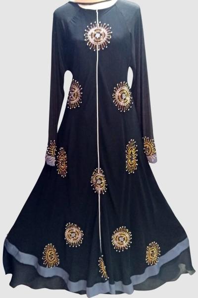(6 Pcs Set) Fashionable Abaya