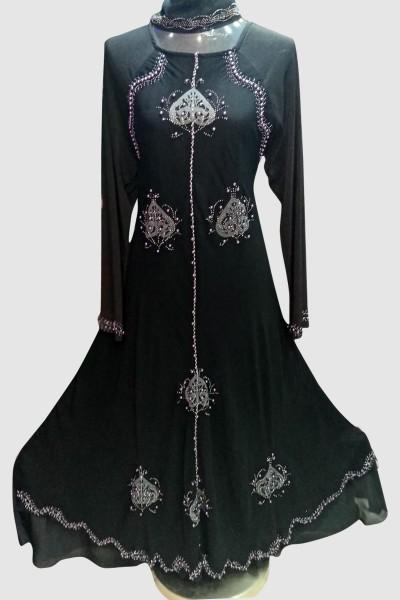 (6 Pcs Set) Trendy Nida Abaya