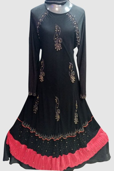 (6 Pcs Set) Embellished Abaya