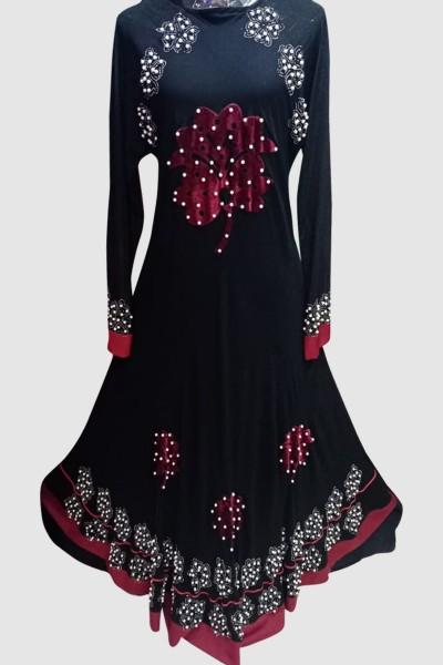 (6 Pcs Set) Charming Abaya