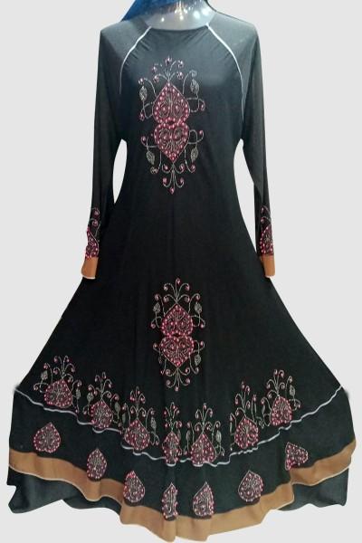 (6 Pcs Set) Elegant Abaya