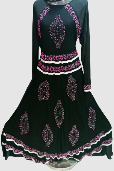 (6 Pcs Set) Dubai Fashion Abaya