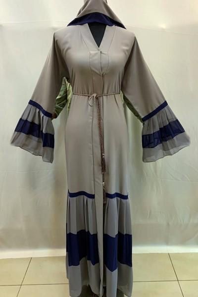 (3 Pieces Set) Occasional Abaya