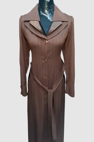 (3 Pieces Set) Modest Coat