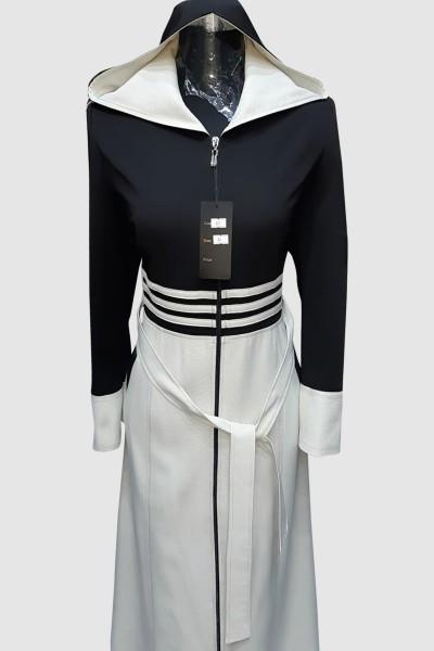 (3 Pieces Set) Gorgeous Abaya Coat