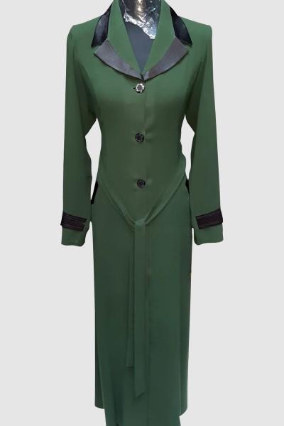 (3 Pieces Set) Reseller Abaya Coat
