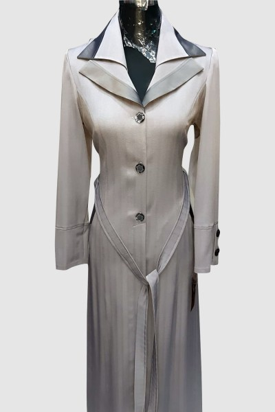 (3 Pieces Set) Autumn Abaya Coat