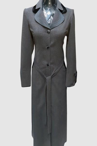 (3 Pieces Set) Open Abaya Coat