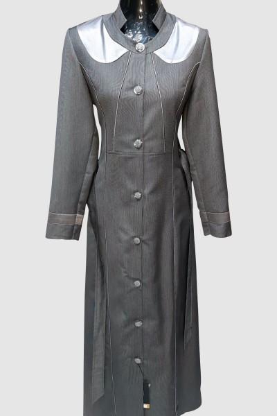(3 Pieces Set) Ethnic Abaya Coat