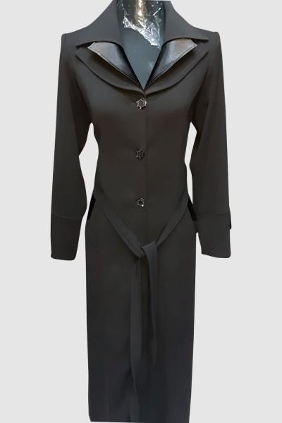 (3 Pieces Set) Exclusive Abaya Coat