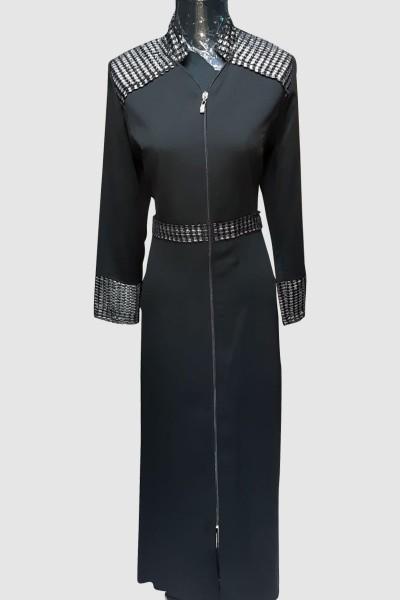 (3 Pieces Set) Newest Abaya Coat