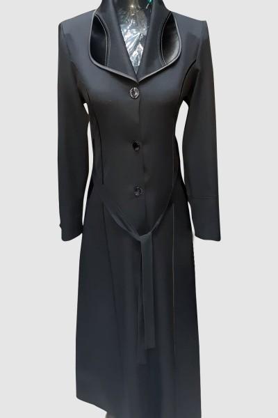(3 Pieces Set) Feminine Abaya Coat