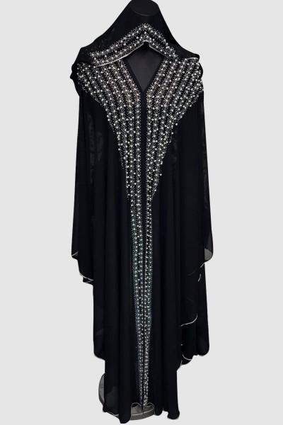 Sophisticated Aroosa Pearl Abaya