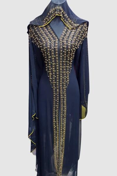 Stunning Aroosa Pearl Abaya