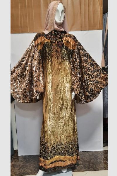 (3 Pieces Set) Modest Abaya