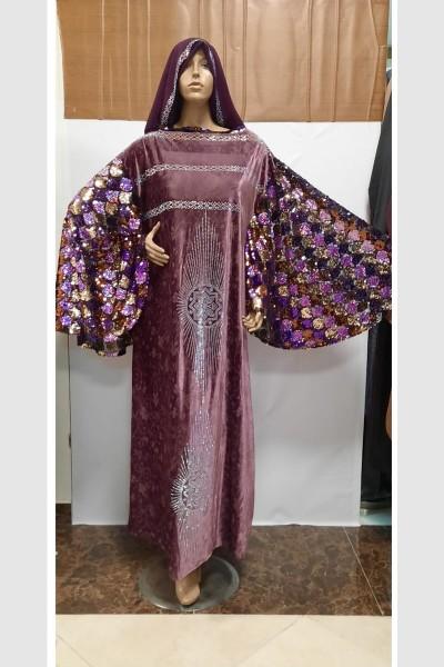 (3 Pieces Set) Gorgeous Abaya