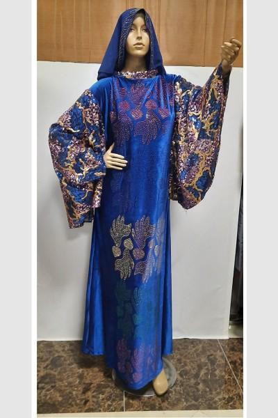 (3 Pieces Set) Stylish Abaya