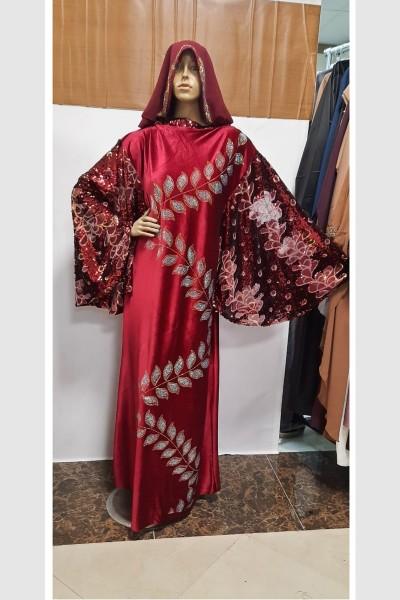 (3 Pieces Set) Trends Abaya