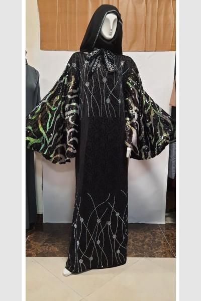 (3 Pieces Set) Reseller Abaya