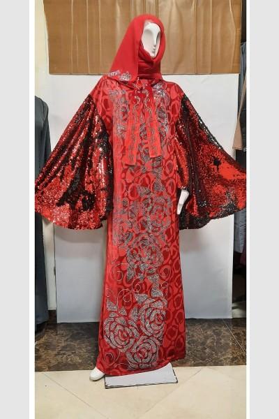 (3 Pieces Set) Arabian Abaya