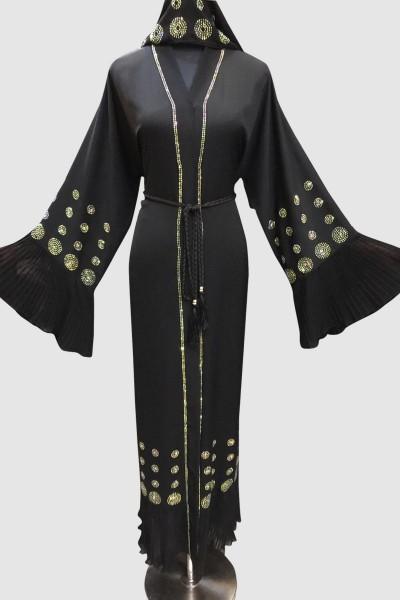 Reseller Designer Abaya (3 Pieces Set)
