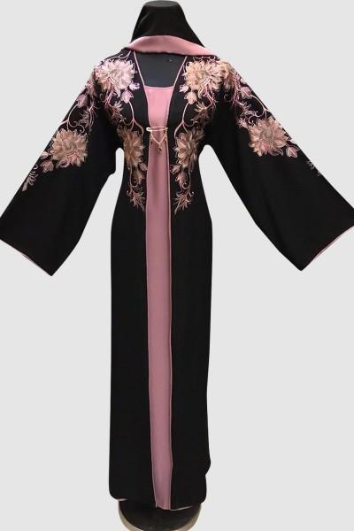 Embroidery Fancy Abaya