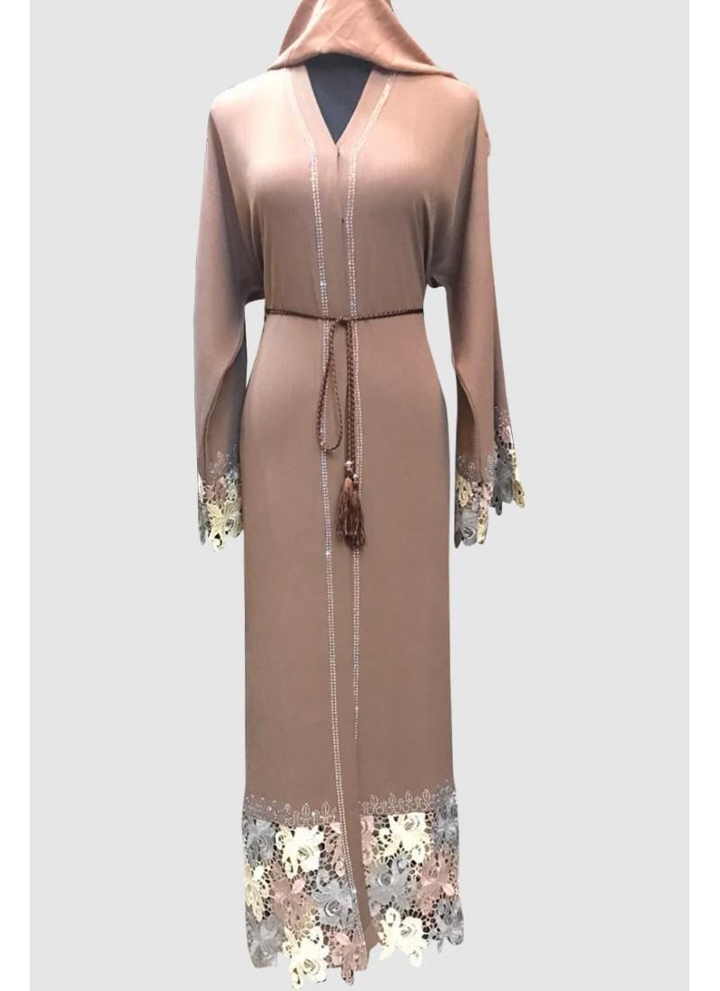 Turkish Net Fancy Abaya
