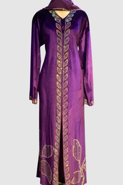 Exclusive Effa Velvet Abaya