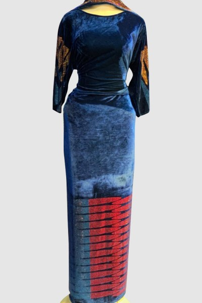 Arabic Velvet Abaya