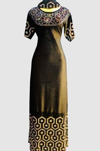 Modest & Trendy Velvet Abaya
