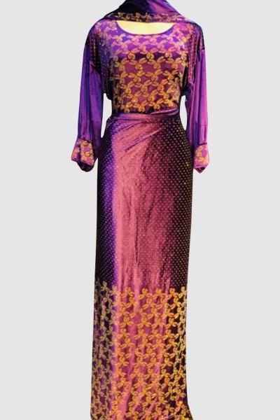 Stunning Velvet Abaya