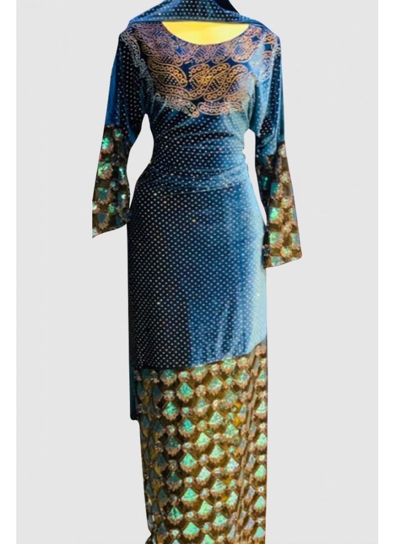 Gorgeous Velvet Abaya