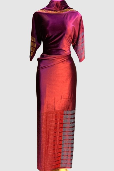 Latest Velvet Stone Abaya