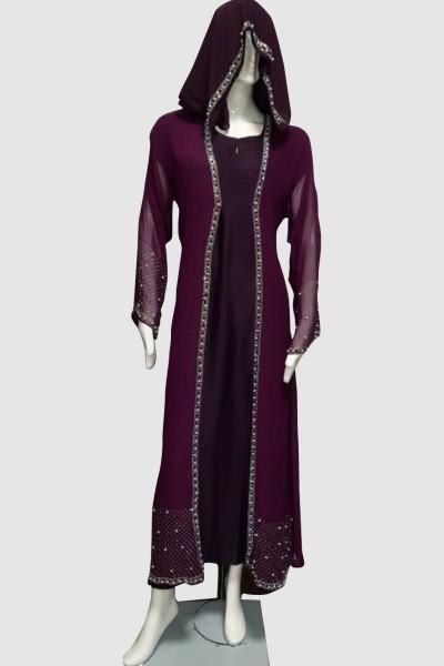 Classy Gorgeous Abaya (3 Pieces Set)