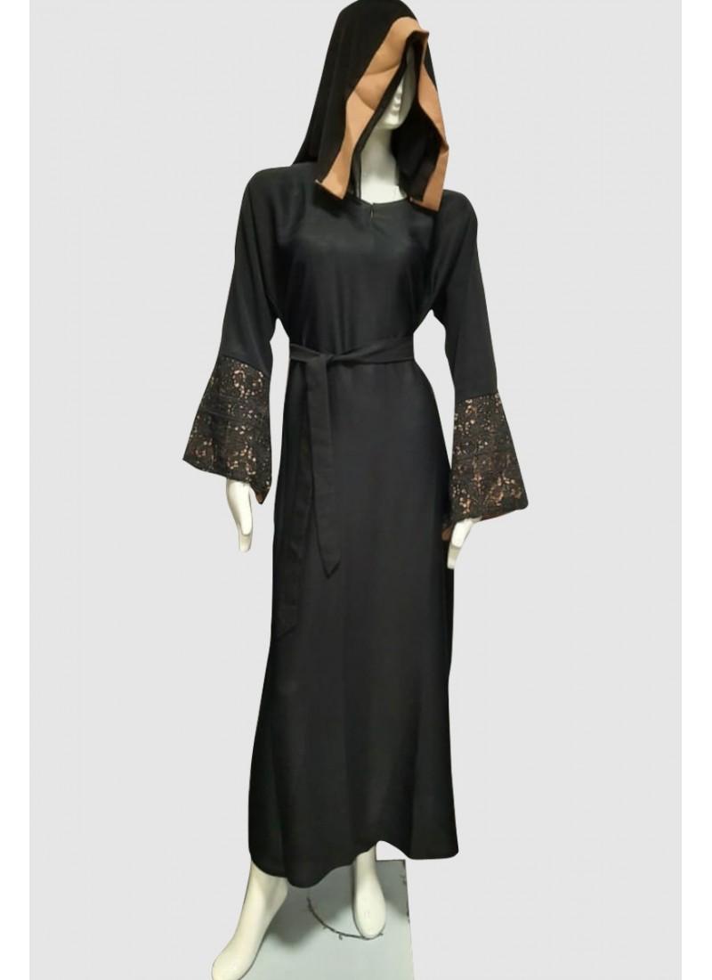 Abelia Designer Abaya (3 Pieces Set)