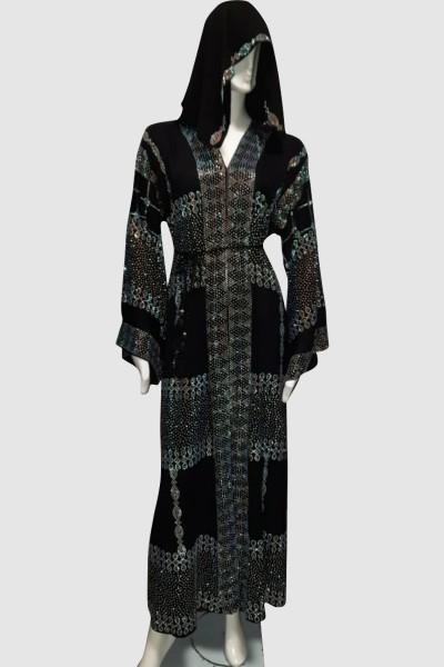 Stunning Classy Abaya (3 Pieces Set)
