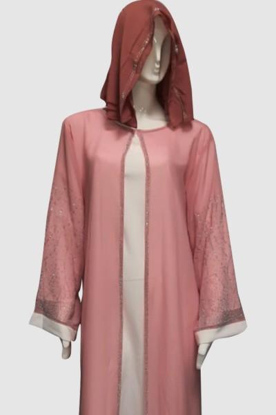 Blossom Designer Abaya (3 Pieces Set)