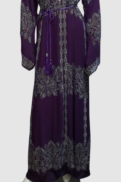 Zinnia Sophisticated Abaya (3 Pieces Set)