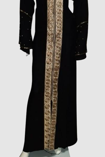 Beautiful Hoodie Abaya (3 Pieces Set)