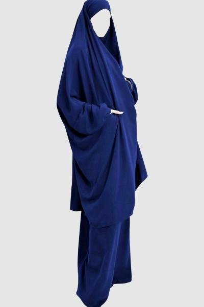 Jilbab Khimar Pray Abaya (6 Pieces Set)
