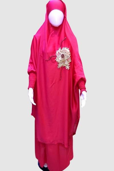 Muslim Khimar Abaya (6 Pieces Set)