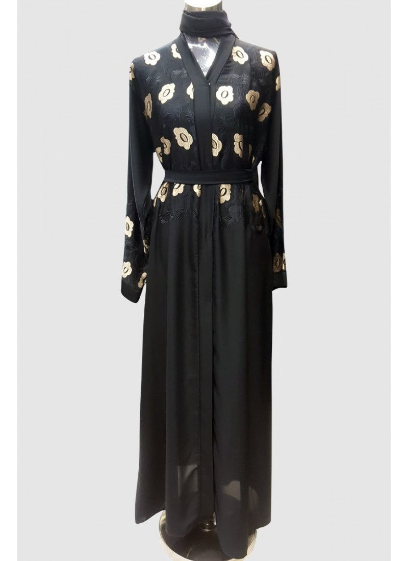 Stylish Embroidery Abaya