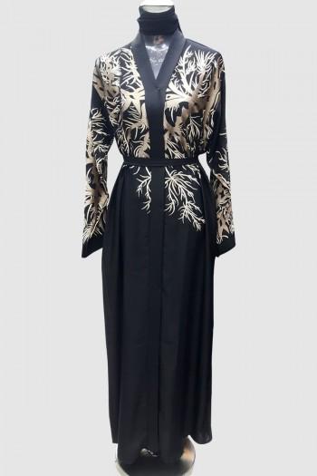 Embroidery Classy Modest Abaya