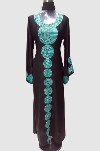 Designer Aari Work Abaya