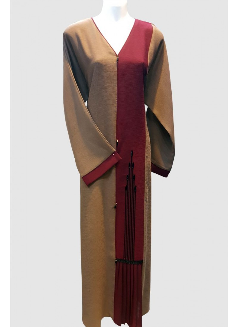 Straight Cut Designer Abaya